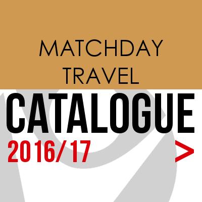 CATALOGUE Matchday Travel Button